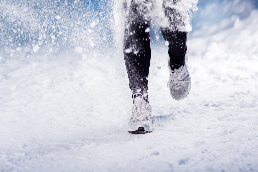Image: Running via Shutterstock