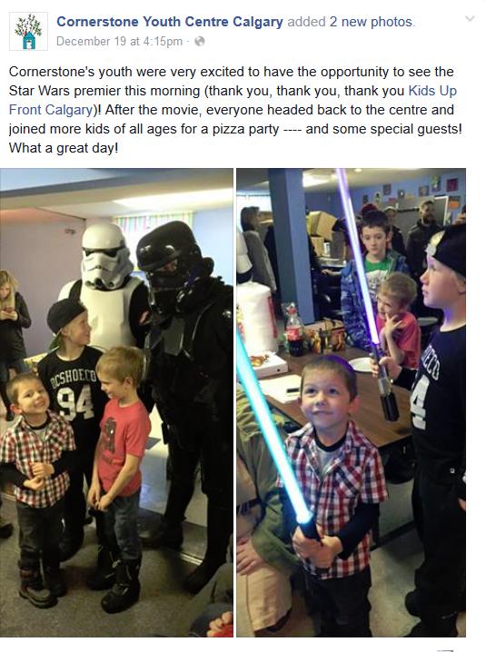 Image: Cornerstone Youth Centre Calgary via Facebook
