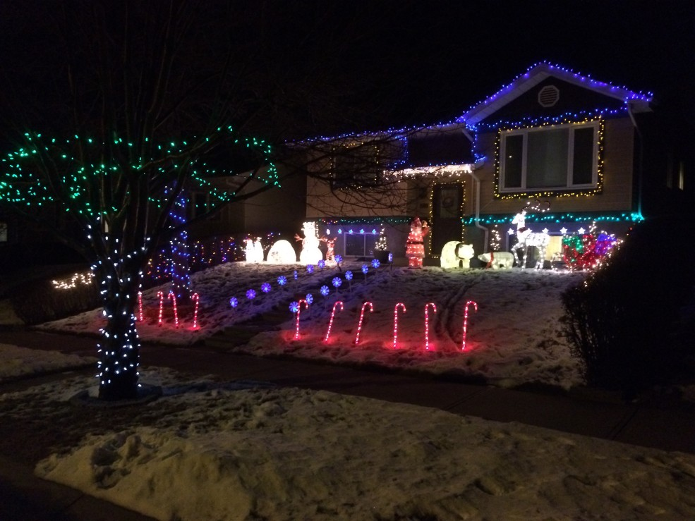 Christmas Lights in Calgary