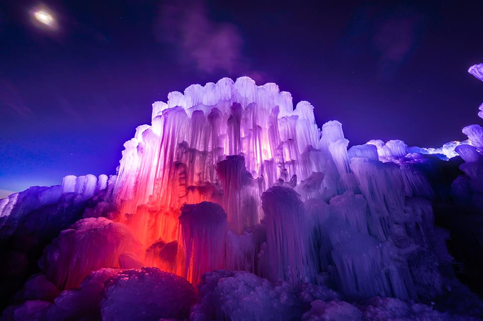 Image: Ice Castles YEG via Facebook