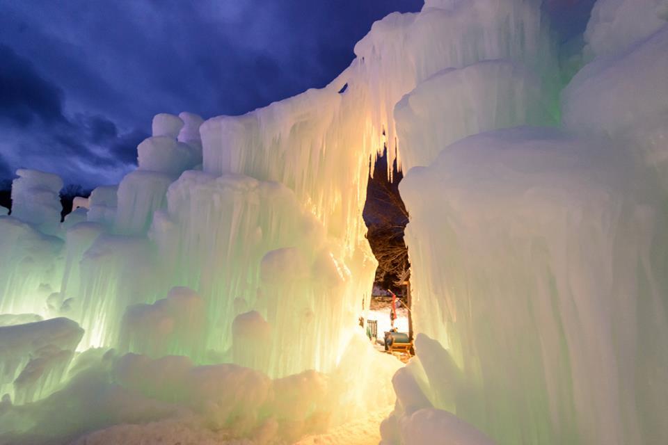 Imag: Ice Castles YEG via Facebook