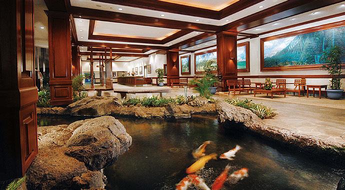 Aston Waikiki Banyon Hotel Lobby