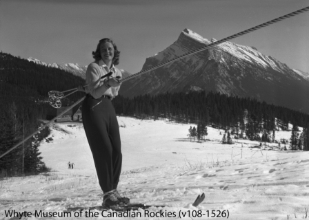 Rope Tow at Mount Norquay