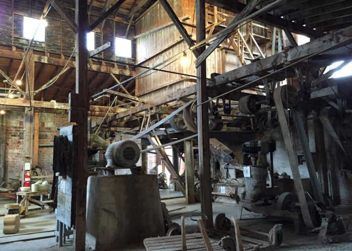 Machinery in the Medalta Clay District