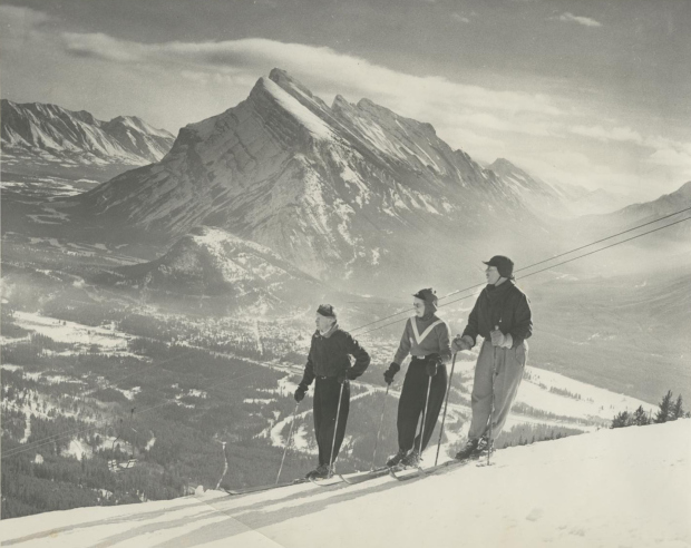 1948 Mount Rundle