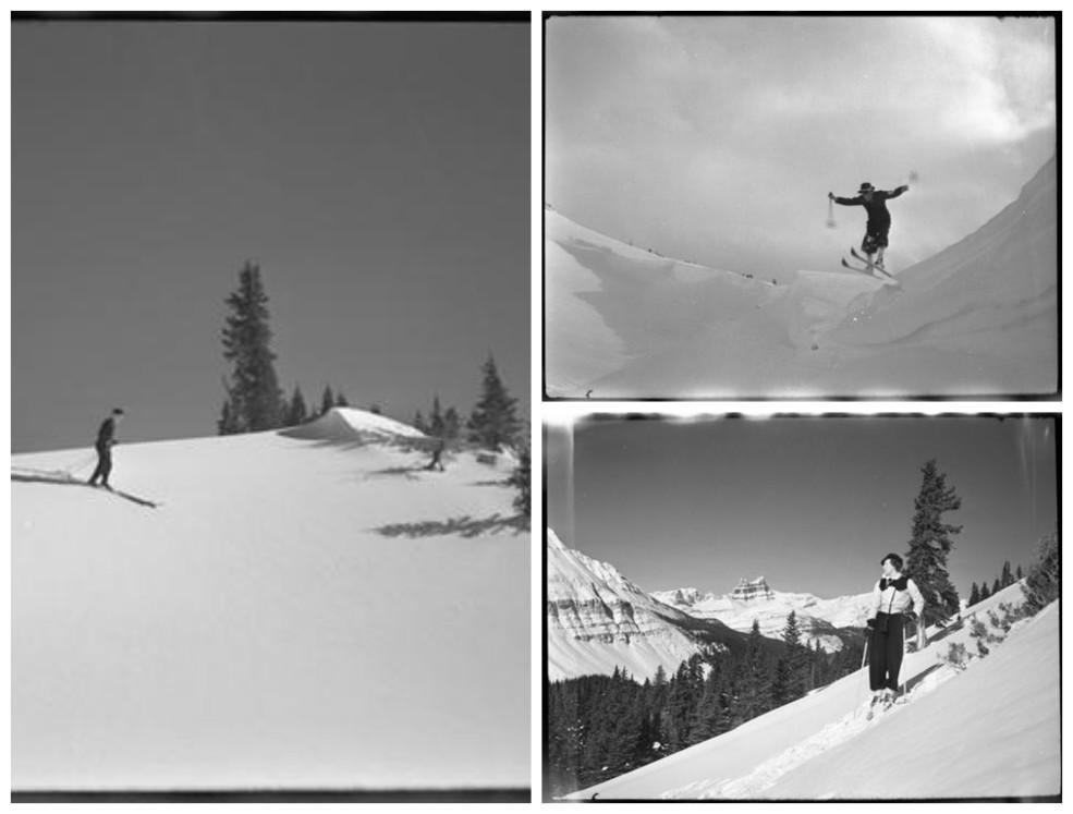 Skiing at Skoki