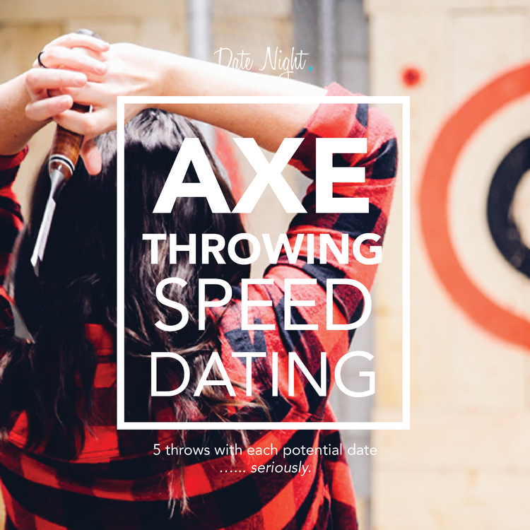 Image: Axe Throwing Speed Dating - Valentine's Edition
