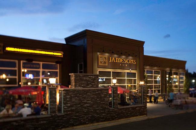Jamesons Pub Brentwood / Facebook