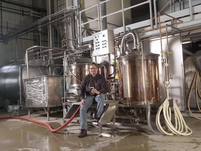 Big Rock Brewery's Calgary Brewmaster Paul Gautreau (Photo courtesy Big Rock Brewery)
