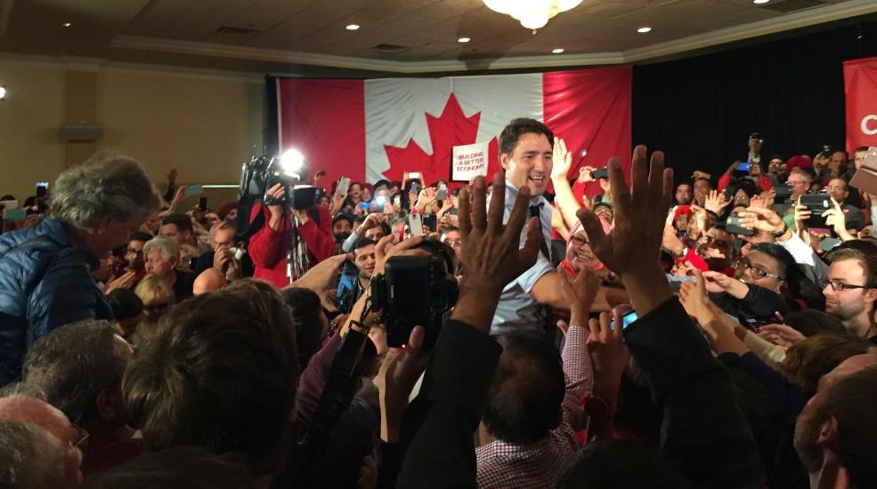 Justin Trudeau in Calgary