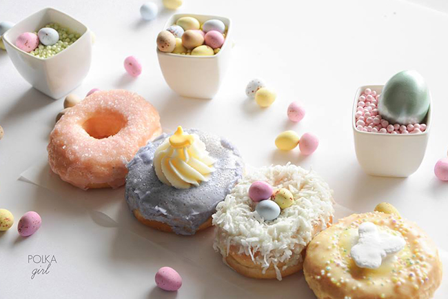 Jelly Modern Doughnuts (Polka Girl) / Facebook