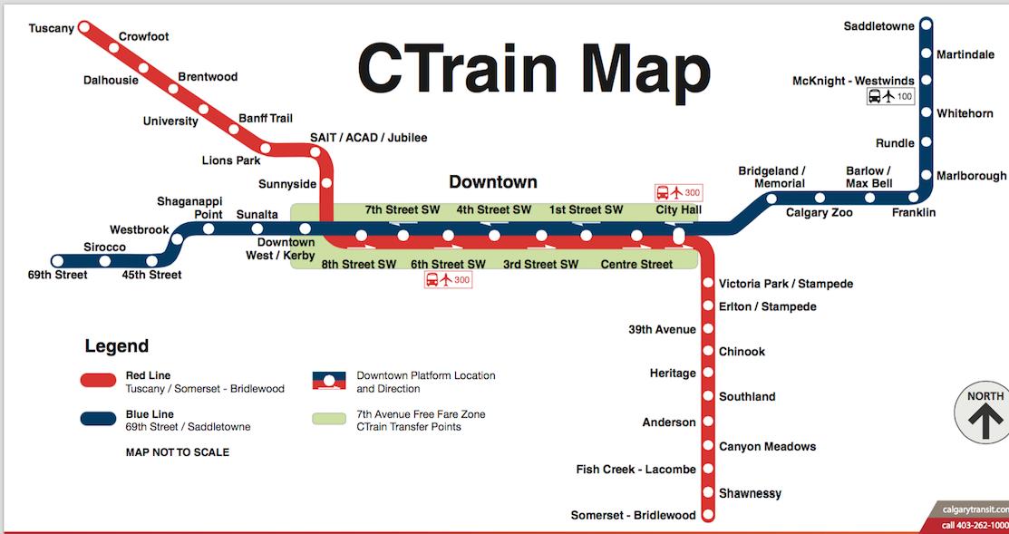 Image: Red Line / Calgary Transit
