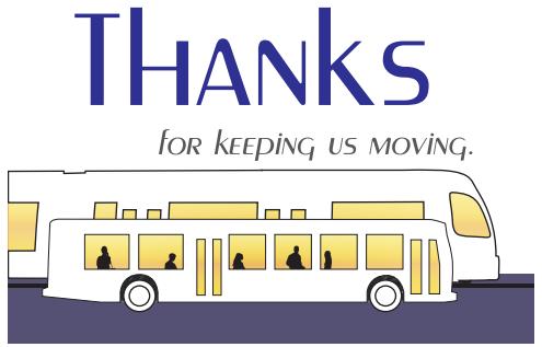 Image: Transit Driver Appreciation Day