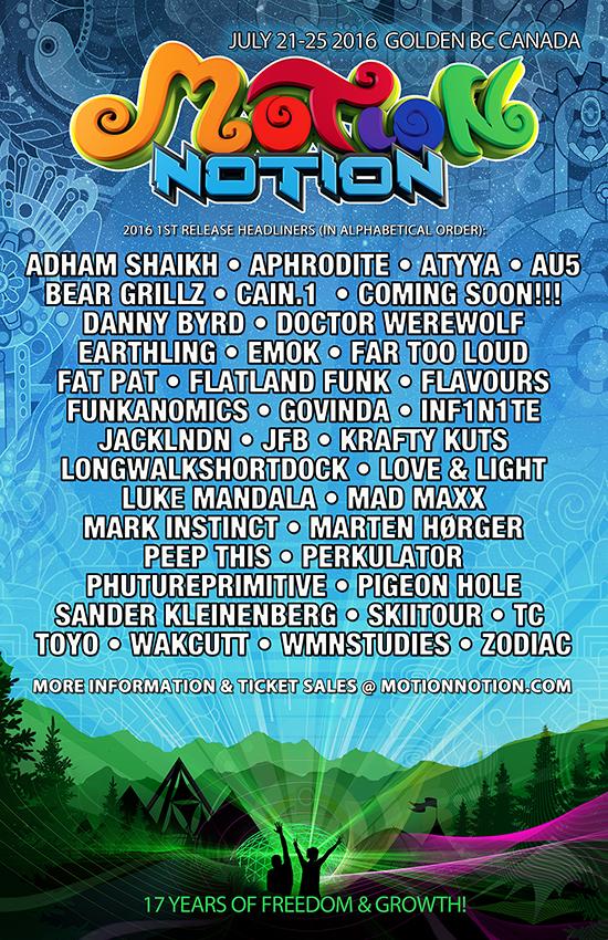 Image: Motion Notion Festival 2016
