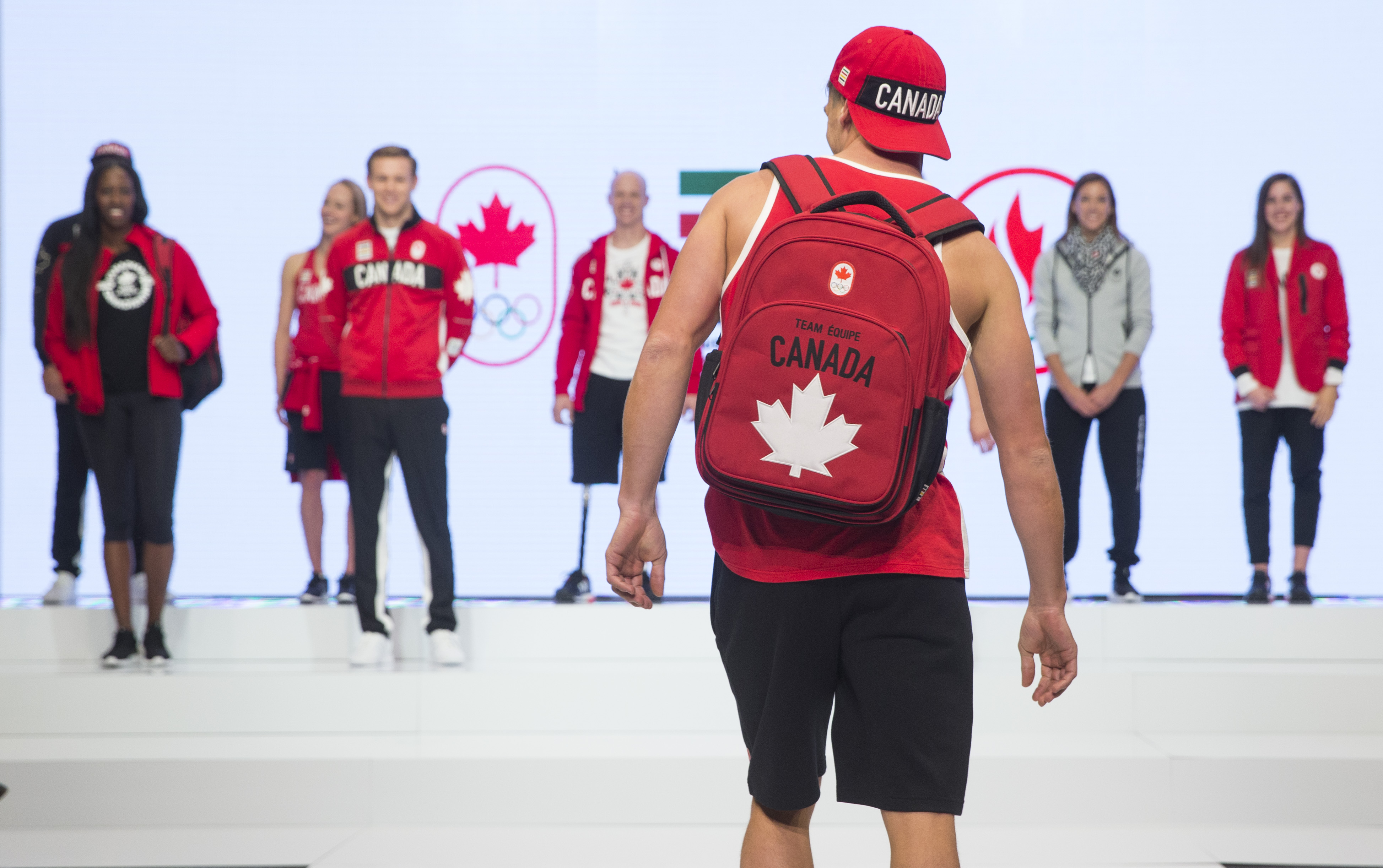 Image: Mark Blinch, Canadian Olympic Committee