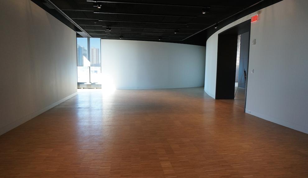 Image: Pop up show space. Shez Rajan / Calgary Buzz