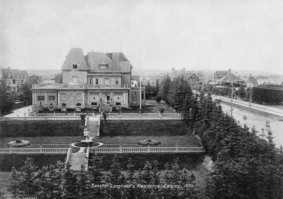 """Beaulieu"" residence of Senator James Lougheed / Image: NA-4441-2 / Glenbow Archives"
