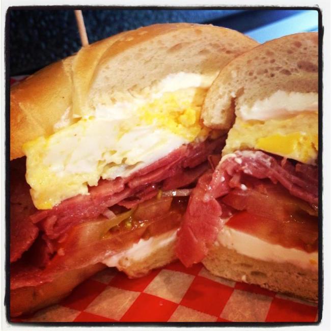 Breakfast sandwich (Avenue Deli/Facebook)
