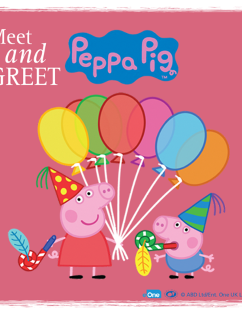 Peppa Pig Meet Greet Daily Hive Vancouver