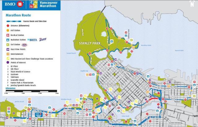 Road Conditions Vancouver: BMO Vancouver Marathon 2011