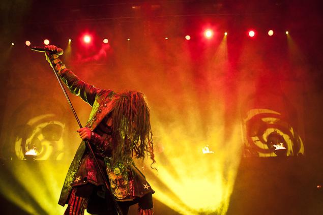 Rob Zombie live in Vancouver - Photograph Darko Sikman