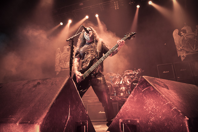 Slayer live in Vancouver - Photograph Darko Sikman
