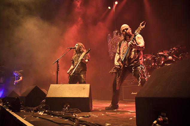 Slayer live in Vancouver - Photograph Darko Sikman