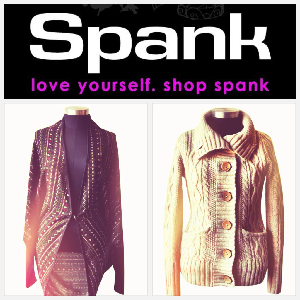 Clothing logo spank