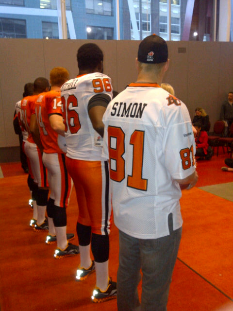 BC Lions New Jersey Unveiled 2012  2681c30af