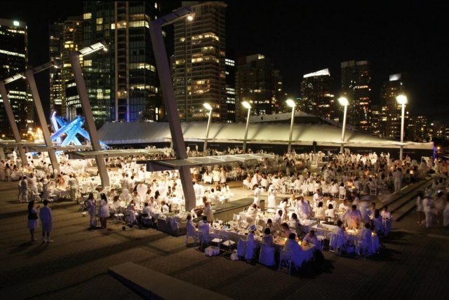 """Diner En Blanc White Party Vancouver"""