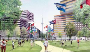 Athletes Village for Toronto 2012 Pan American Games