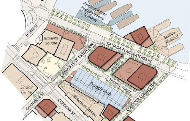 Redevelopment Project and Transit Hub