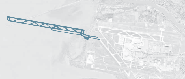 Fourth airport runway for Sea Island