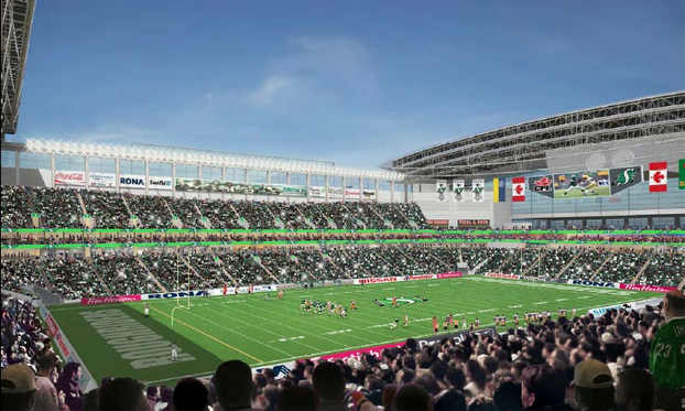 New Regina Stadium Rendering