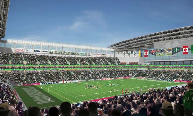 New Regina Stadium Rendering