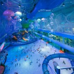 Water Park at Water Cube in Beijing