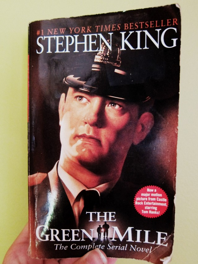 the green mile book essay The green mile essaysstephen king wrote the green mile the green mile comes in either the series or one big book there are six books in the series the names are 1.