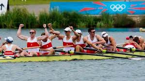 Rowers capture silver in London