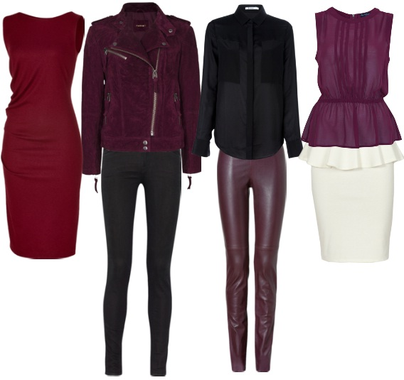 Fall trend color Burgundy