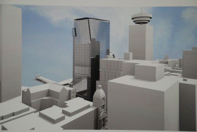 320 Granville Office tower proposal Vancouver