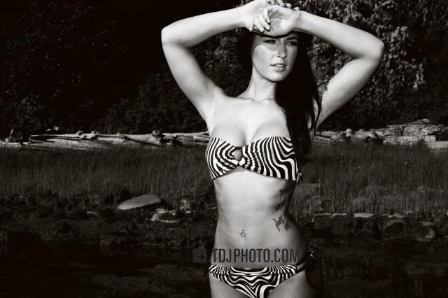 Jacqueline Boudreau bikini model