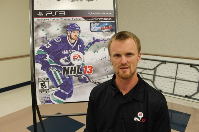 NHL 13 Henrik Sedin Midnight Launch