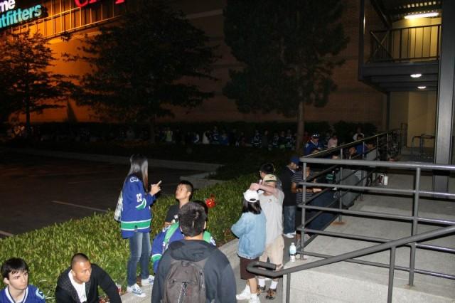 NHL 13 Midnight launch Metrotown
