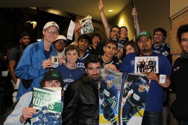 Nhl 13 fans Vancouver Canucks