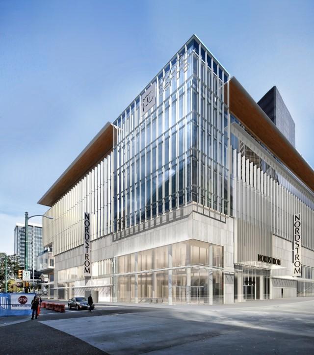 Nordstrom Vancouver renderings