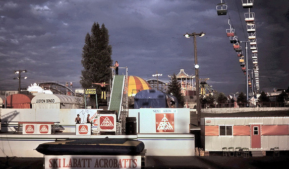 Playland Chairlift 1979