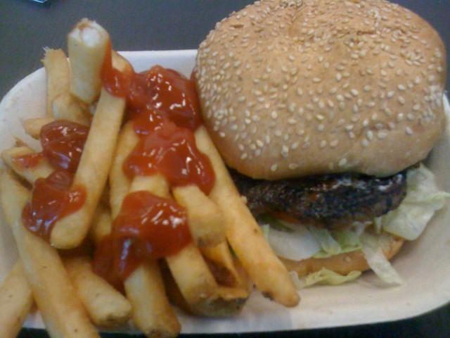 UBC Pit Burger
