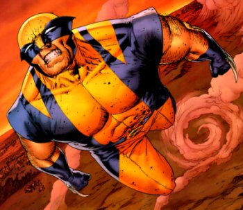 Wolverine being thrown in Astonishing X-Men
