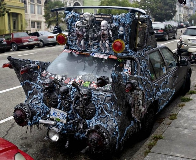 Halloween Car in Vancouver