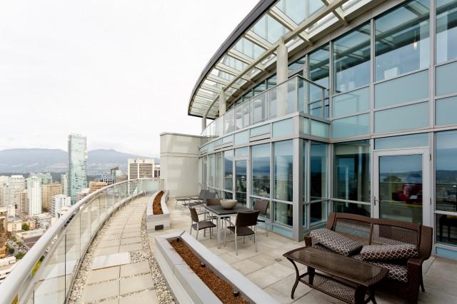 Vancouver Penthouse Patio